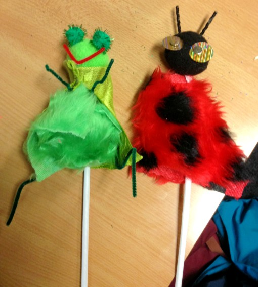 Pairing Presentations with Puppets.  Naturally.
